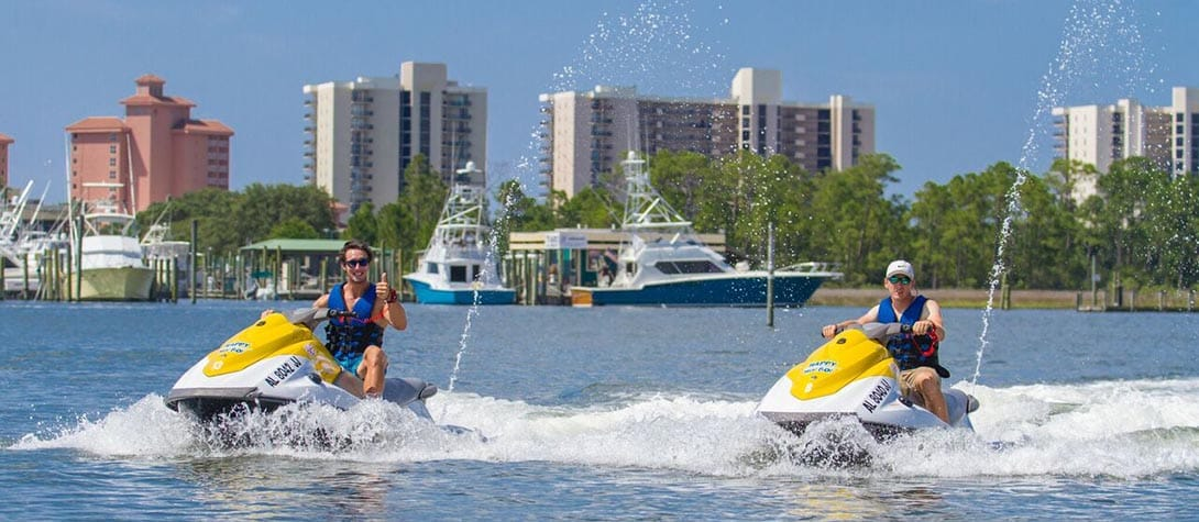 Guided Jet Ski Tours at Happy Harbors in Orange Beach!
