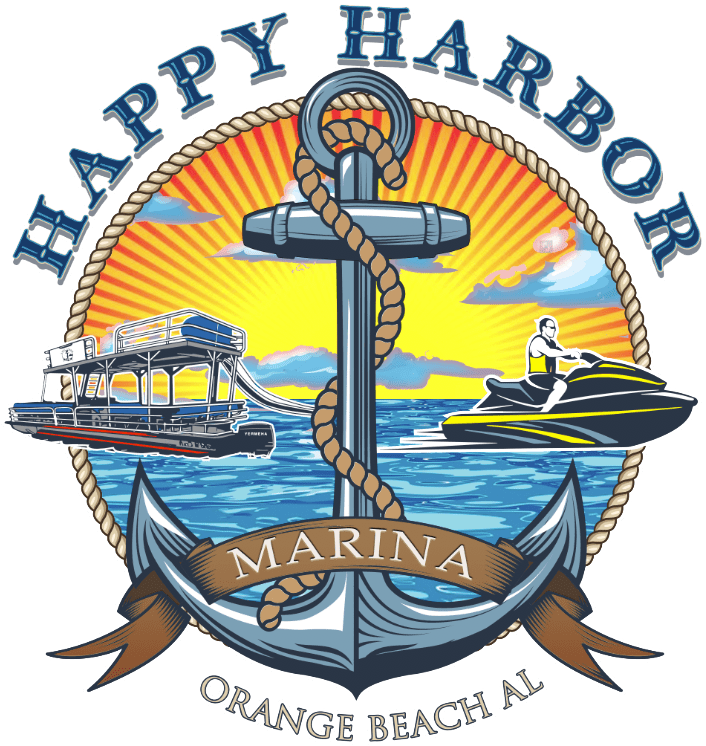 Happy Harbor Logo - Happy Harbor Marina is your source for watersports rentals in Orange Beach & Gulf Shores, AL.