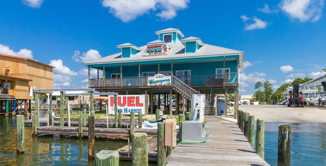 Buy marine fuel and supplies from our Dock Store!